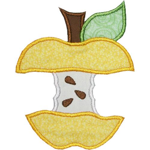 Apple Cores Are A Myth: Apple Core Applique Design
