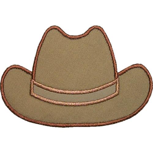 Cowboy Hat Applique Design