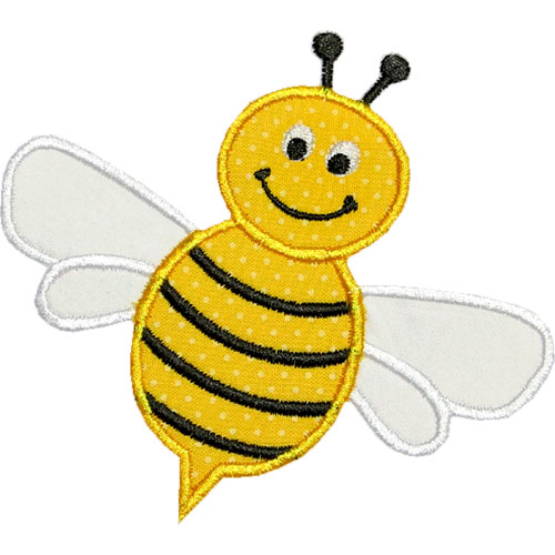 BEES on Pinterest Appliques, Bumble Bees and Applique Monogram
