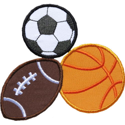 Pile of Balls Applique Design