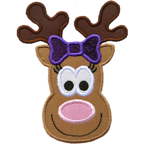 Gallery For gt Reindeer Face