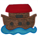 Noahs Ark Applique Design