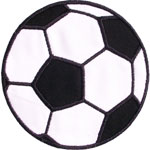 Soccer Ball Applique Design