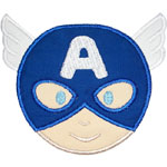 American Hero Applique Design