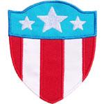 American Shield Applique Design