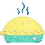 Hot Pie Applique Design