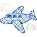 Airplane Applique Design