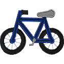 Bicycle Applique Design