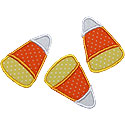 Candy Corns Applique Design