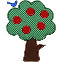Fruit Tree Applique Design