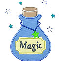 Magic Potion Applique Design
