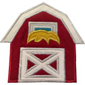 Barn Applique Design