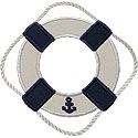 Life Preserver Ring Applique Design