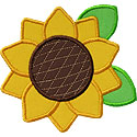 Sunflower Applique Design