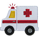 Ambulance Applique Design