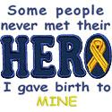 Birth To My Hero Applique Design