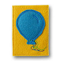 Birthday Balloon Gift Card Applique Design