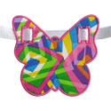 Butterfly Banner Piece Applique Design