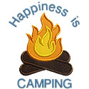 Campfire Applique Design