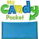 Candy Pocket Applique Design