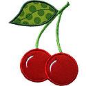 Cherry Applique Design