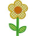Cute Flower Applique Design