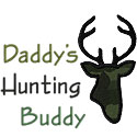 Daddys Hunting Buddy Applique Design