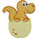 Dinosaur Egg Applique Design
