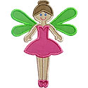 Fairy Applique Design