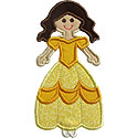 Fairytale Princess Three Applique Design