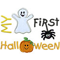 First Halloween Applique Design