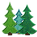 Forest Applique Design