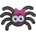 Girl Spider Applique Design