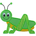 Grasshopper Applique Design
