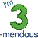 Im 3mendous Applique Design
