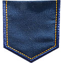 Jeans Pocket Applique Design