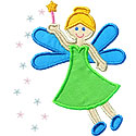 Magic Fairy Applique Design