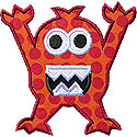 Monster Applique Design