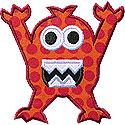 Monster Applique Design