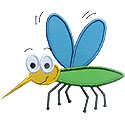Mosquito Applique Design