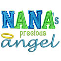 Nanas Angel Applique Design
