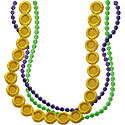 Necklace Beads Applique Design