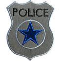 Police Badge Applique Design