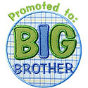 Promoted Big Bro Applique Design