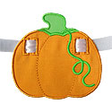 Pumpkin Banner Piece Applique Design