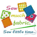 Sew Much Fabric Applique Design