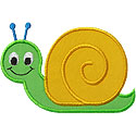Snail Applique Design