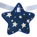 Star Banner Piece Applique Design