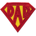Super Dad Applique Design