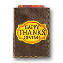 Thanksgiving Gift Card Applique Design